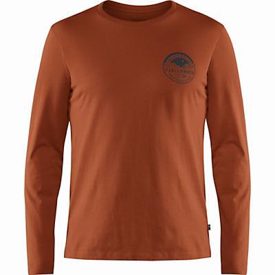 Fjallraven Forever Nature Badge LS T-Shirt - Autumn Leaf - Men