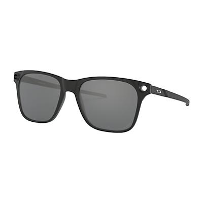 Oakley Apparition Polarized Sunglasses - Satin Black/Black Iridium Polarized