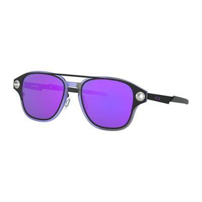 Oakley Coldfuse Polarized Sunglasses - One Size - Matte Black/Violet Iridium Polarized