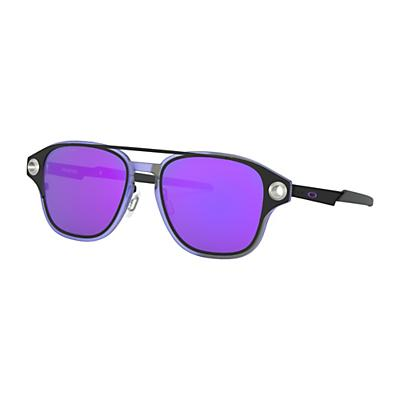 Oakley Coldfuse Polarized Sunglasses - Matte Black/Violet Iridium Polarized