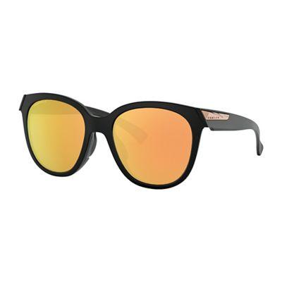 Oakley Low Key Polarized Sunglasses - One Size - Matte Black/PRIZM Rose Gold Polarized
