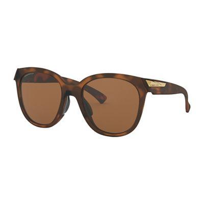 Oakley Low Key Polarized Sunglasses - One Size - Matte Brown Tortoise/Brown Gradient Polarized