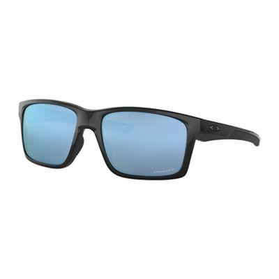 Oakley Mainlink XL Polarized Sunglasses - One Size - Polished Black/PRIZM Deep H20 Polarized