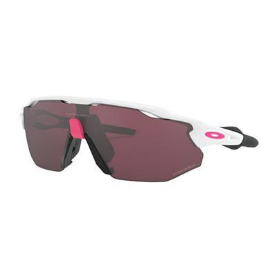 Oakley Radar EV Adventure Sunglasses - One Size - Polished White/PRIZM Road Black
