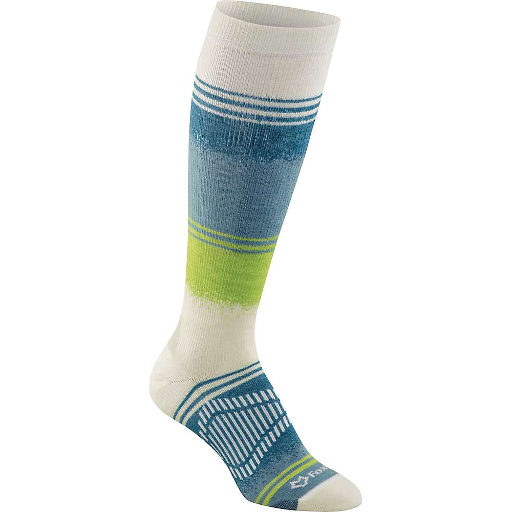 Fox River Chamonix Ski Sock - Large - Winter White