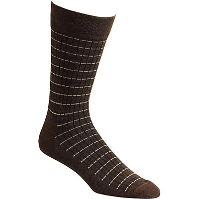 Fox River Pinstripe Sock - Chestnut
