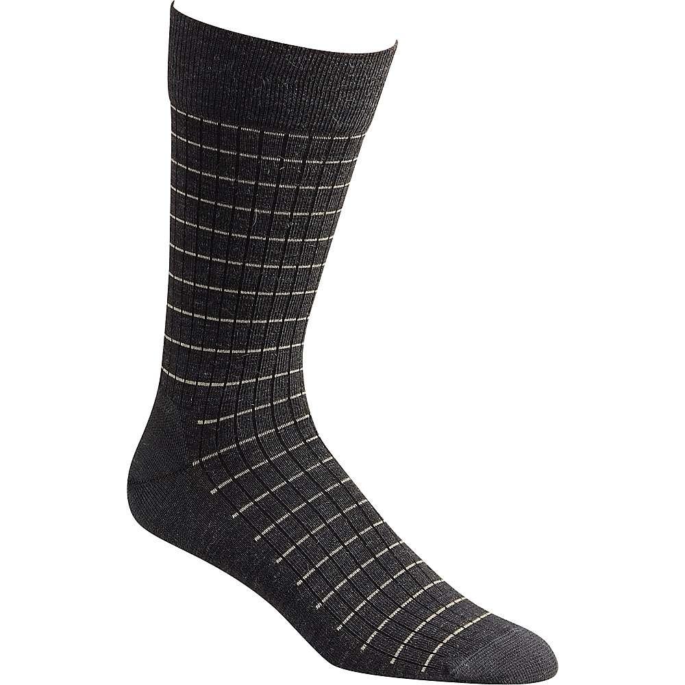 Fox River Pinstripe Sock - Medium - Dark Charcoal