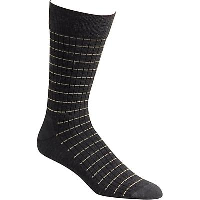 Fox River Pinstripe Sock - Dark Charcoal