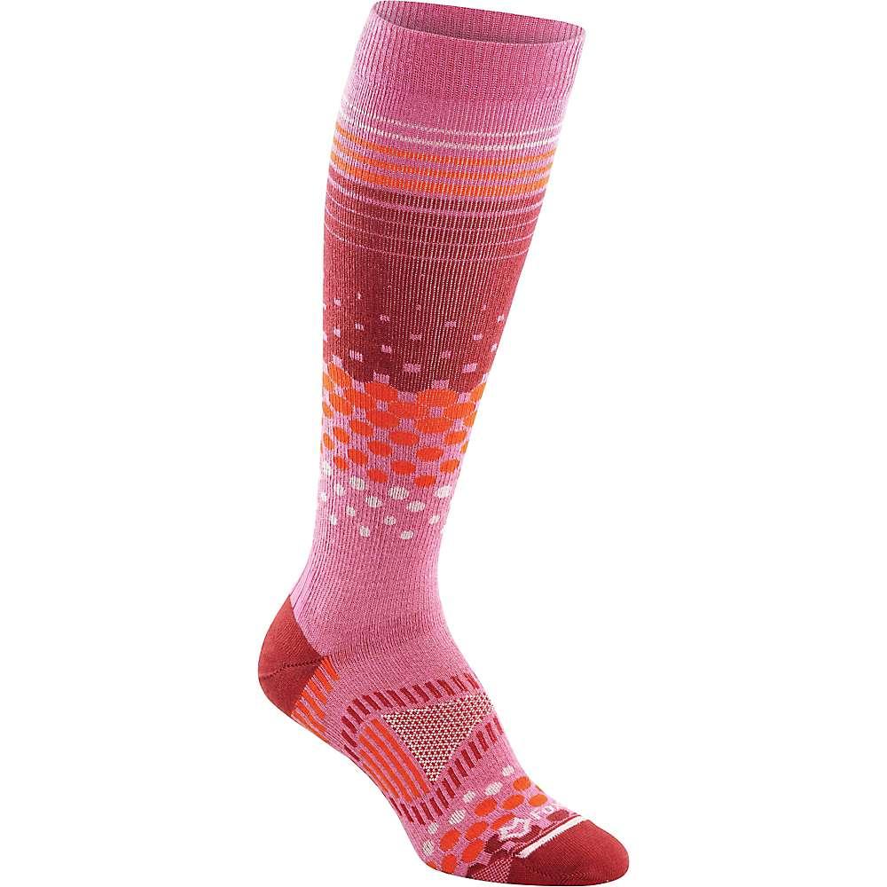 Fox River Tremblant Ski Sock - Large - Raspberry