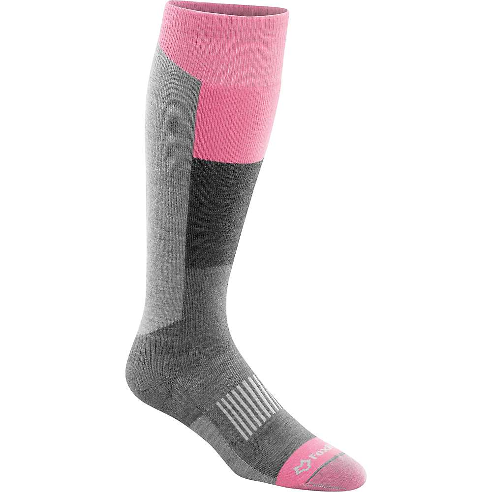 Fox River Wilmot Lightweight Over-The-Calf Ski Sock - Large - Pink