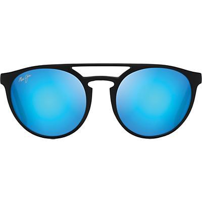 Maui Jim Ah Dang! Polarized Sunglasses - Matte Black/Blue Hawaii
