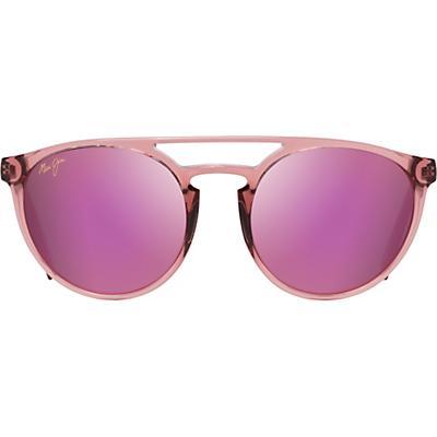 Maui Jim Ah Dang! Polarized Sunglasses - Transparent Pink/MAUI Sunrise