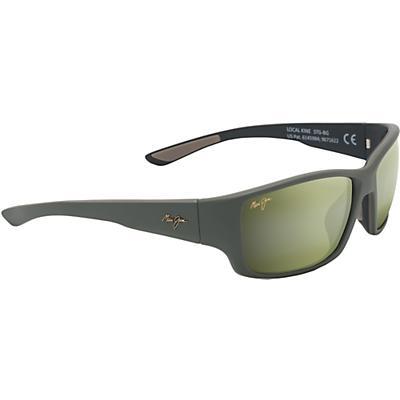 Maui Jim Local Kine Polarized Sunglasses - Matte Khaki/Brown/Black/Maui HT