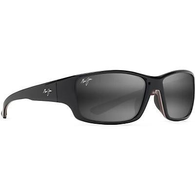 Maui Jim Local Kine Polarized Sunglasses - Shiny Black/Grey/Maroon/Neutral Grey