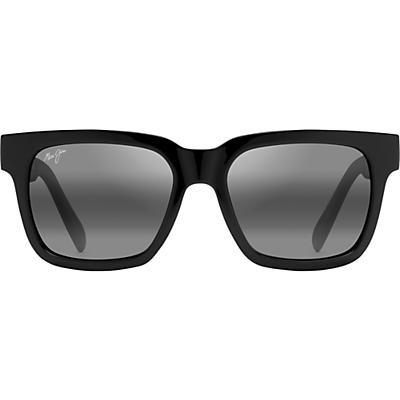 Maui Jim Mongoose Polarized Sunglasses - Black Gloss/Neutral Grey