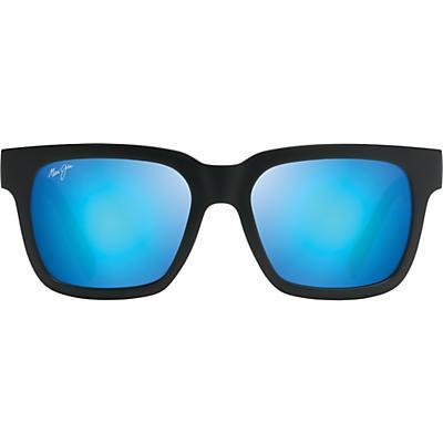 Maui Jim Mongoose Polarized Sunglasses - Black Matte/Blue Hawaii