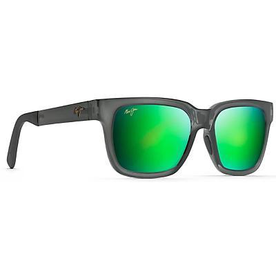Maui Jim Mongoose Polarized Sunglasses - Translucent Grey/MAUIGreen