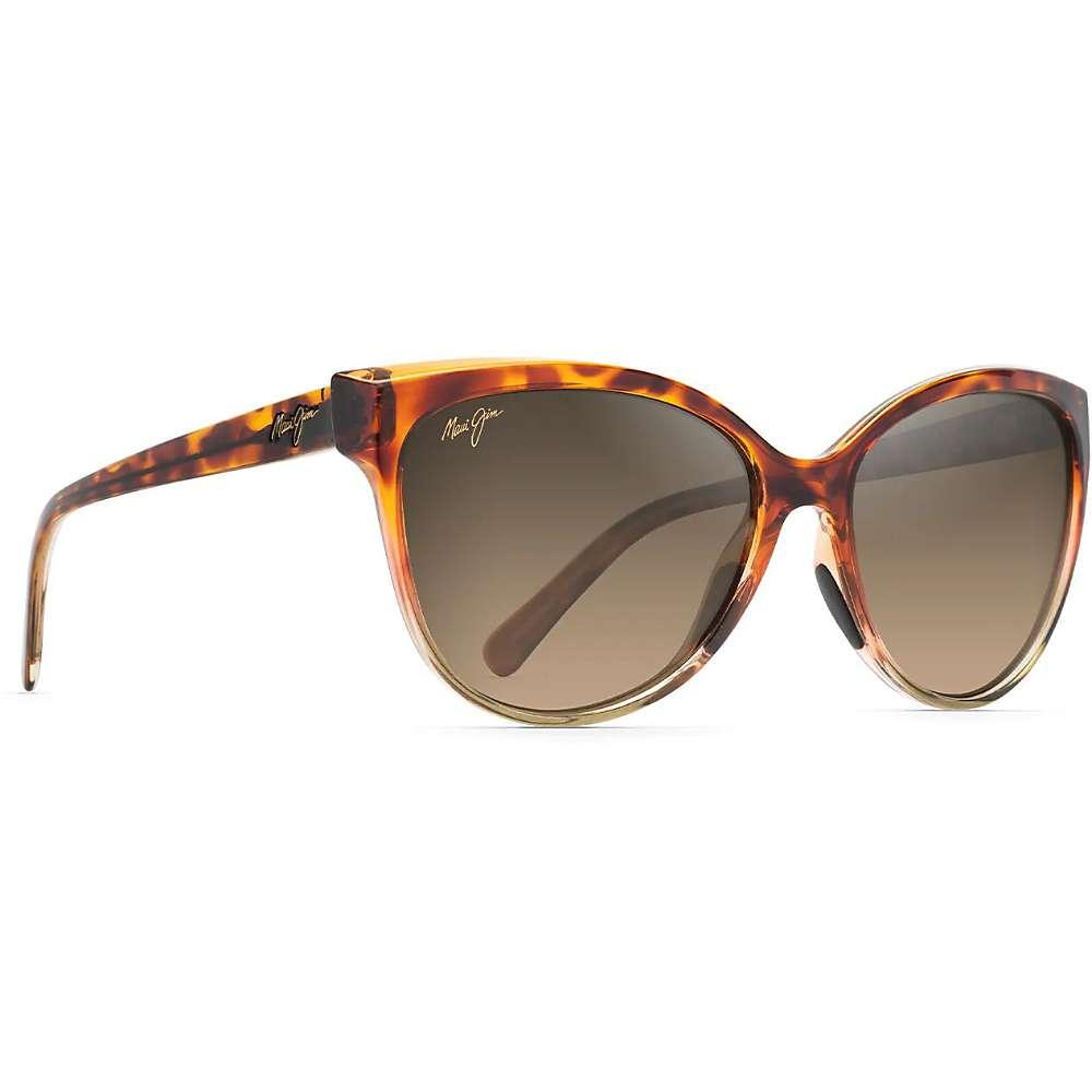 Maui Jim Olu Olu Cat Polarized Cat Eye Sunglasses One Size Tortoise with Tan HCL Bronze