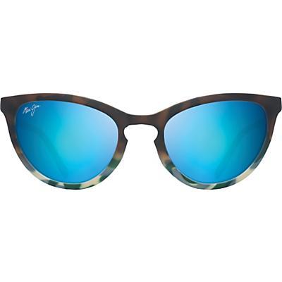 Maui Jim Star Gazing Polarized Sunglasses - Matte Brown/Blue Tokyo/Blue Hawaii