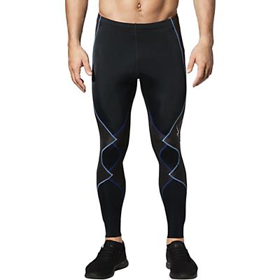 CW-X Mens Expert 2.0 Joint Support Compression Tights - Black/Blue