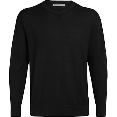 Icebreaker Nova Sweater Sweatshirt - Black - Men