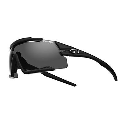 Tifosi Aethon Interchangeable Sunglasses - Matte Black/Smoke/AC Red/Clear