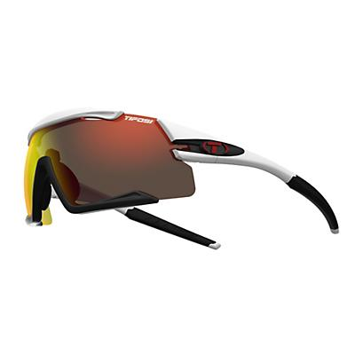Tifosi Aethon Interchangeable Sunglasses - White/Black/Clarion Red/AC Red/Clear