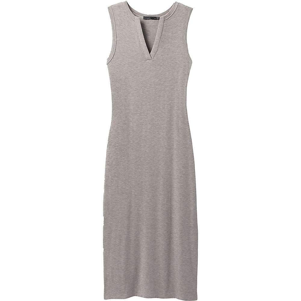 Cheap Prana Womens Foundation Midi Dress - Small - Heather Grey