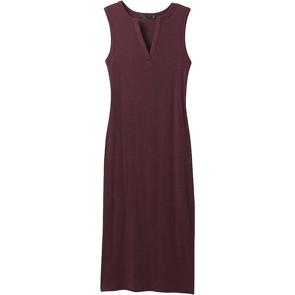 Best Prana Womens Foundation Midi Dress - XS - Raisin Heather