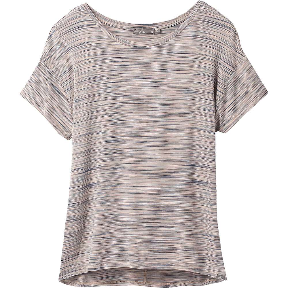 Reviews Prana Womens Foundation Slouch Top - Small - Frost