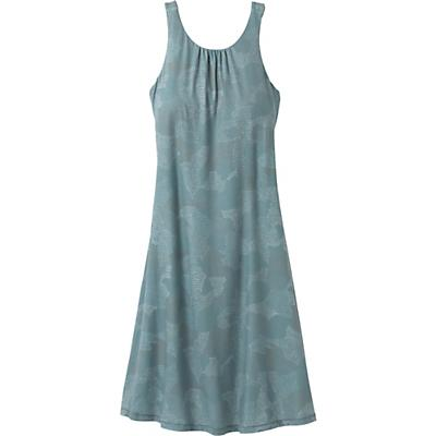 Prana Skypath Dress - Blue Dotty - Women