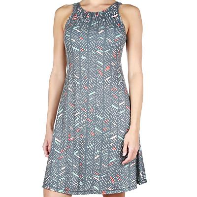Prana Skypath Dress - Chalkboard Sketch - Women