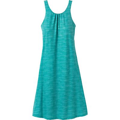Prana Skypath Dress - Teal Riptide - Women