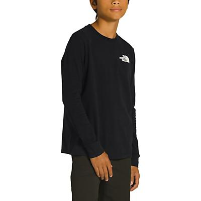 The North Face Youth Graphic LS Tee - TNF Black