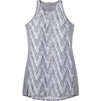 Smartwool Merino Sport Tank Dress - Barely Blue Zig Zag Print - Women