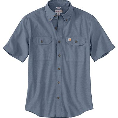 Carhartt Original-Fit Midweight LS Button-Front Shirt - Blue Chambray - Men
