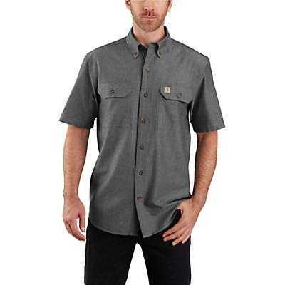 Carhartt Original-Fit Midweight LS Button-Front Shirt - Black Chambray - Men