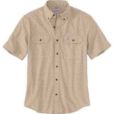 Carhartt Original-Fit Midweight LS Button-Front Shirt - Dark Tan Chambray - Men
