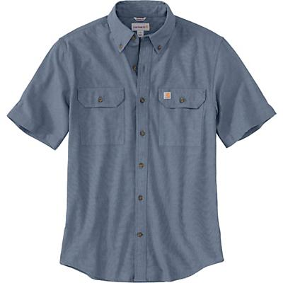 Carhartt Original-Fit Midweight LS Button-Front Shirt - Denim Blue Chambray - Men