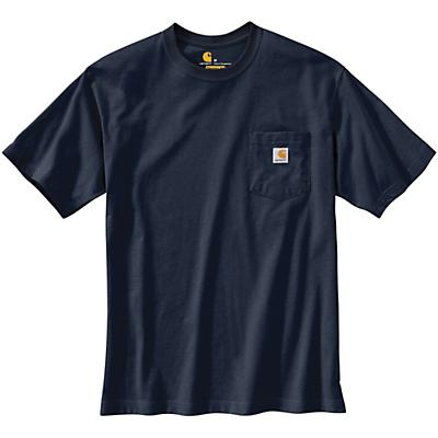 Carhartt Original Fit Heavyweight SS Pocket Dog Graphic T-Shirt - Navy - Men