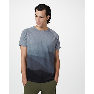 Tentree Destination T-Shirt - Hi Rise Grey Heather / Hi Rise Grey - Mountain Sub - Men
