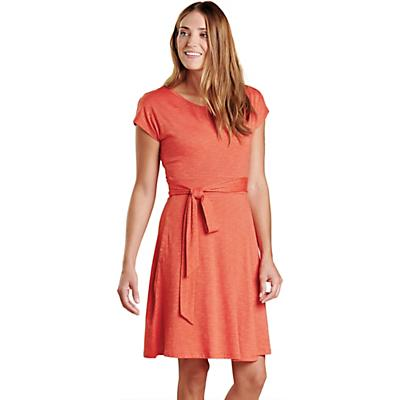 Toad & Co Cue Wrap SS Dress - Chili - Women