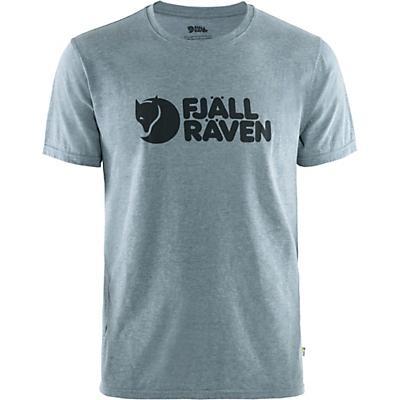 Fjallraven Logo T-Shirt - Uncle Blue / Melange - Men