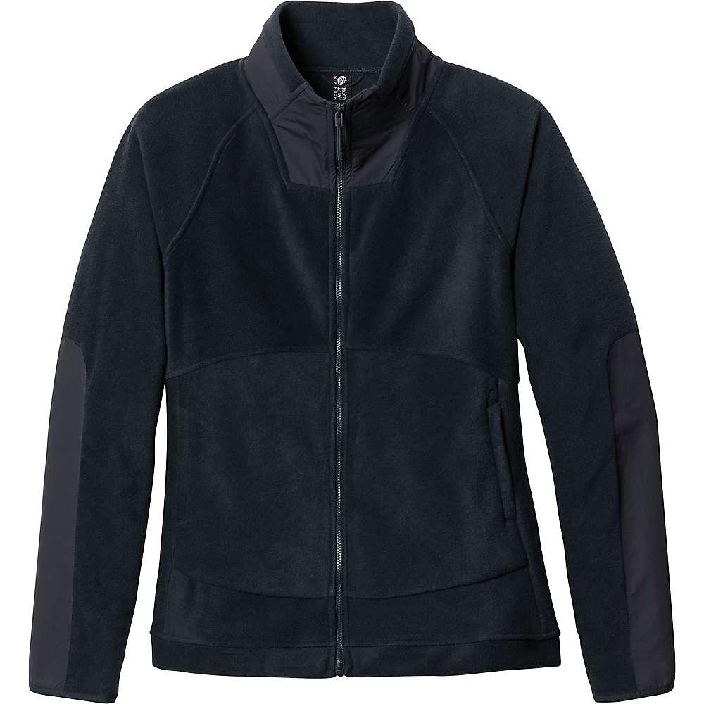 Discounts Mountain Hardwear Womens Unclassic Fleece Jacket - Medium - Dark Storm