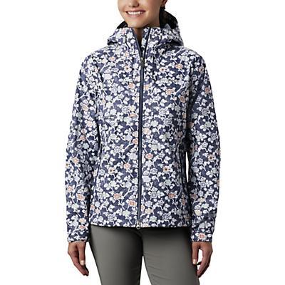 Columbia Big Sandy Creek Jacket - Nocturnal Ikat Floral Print - Women