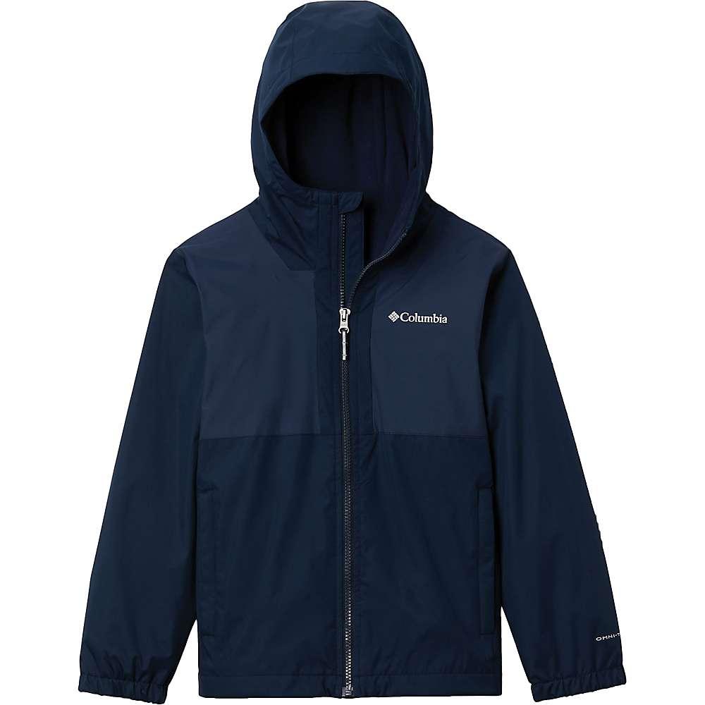 Coupons Columbia Toddler Boys Rainy Trails Fleece Lined Jacket - 2T - Collegiate Navy/Collegiate Navy Slub
