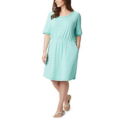 Columbia Slack Water Knit Dress - Dolphin Stripe - Women