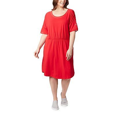 Columbia Slack Water Knit Dress - Red Lily - Women