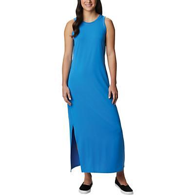 Columbia Slack Water Knit Maxi Dress - Azure Blue - Women