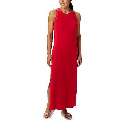 Columbia Slack Water Knit Maxi Dress - Red Lily - Women